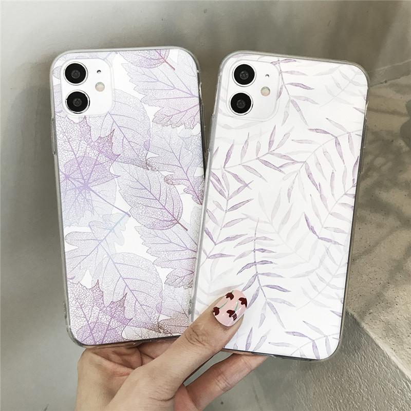 Cell Phone Cases Capa de celular com estampa de margaridas flores,traseira transparente tpu macio para For APPLE iphone 12 11 pro mini x xr xs 7 8 plus se2020
