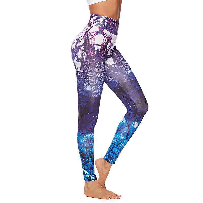 Leggings para mujer Mujeres Alto Elástico Fitness Deporte Pantalones Slim Running Sportswear Deportes Pantalones Ropa