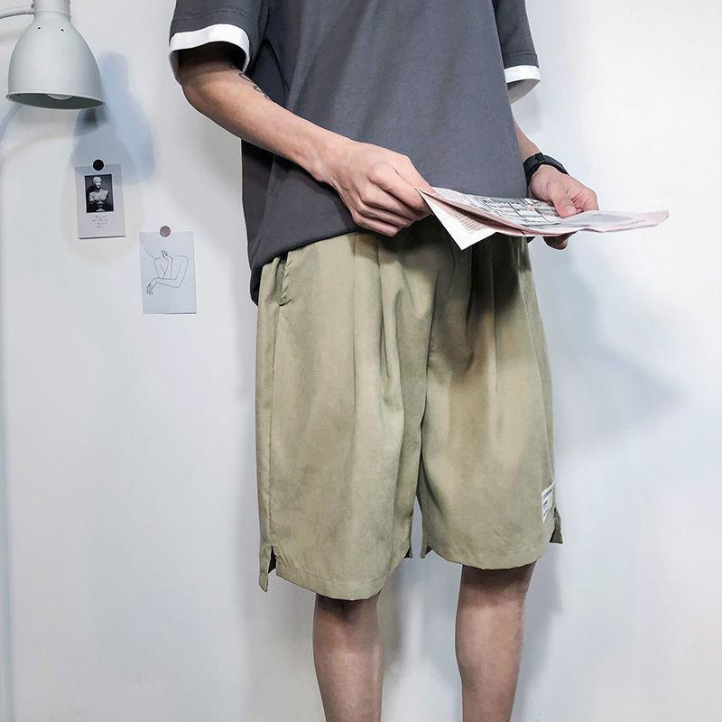 Herren Shorts Mode Designer Luxusqualität 2021 Sommer Komfortables und atmungsaktives lässiges lockeres breites Bein Capris / DK48 P25