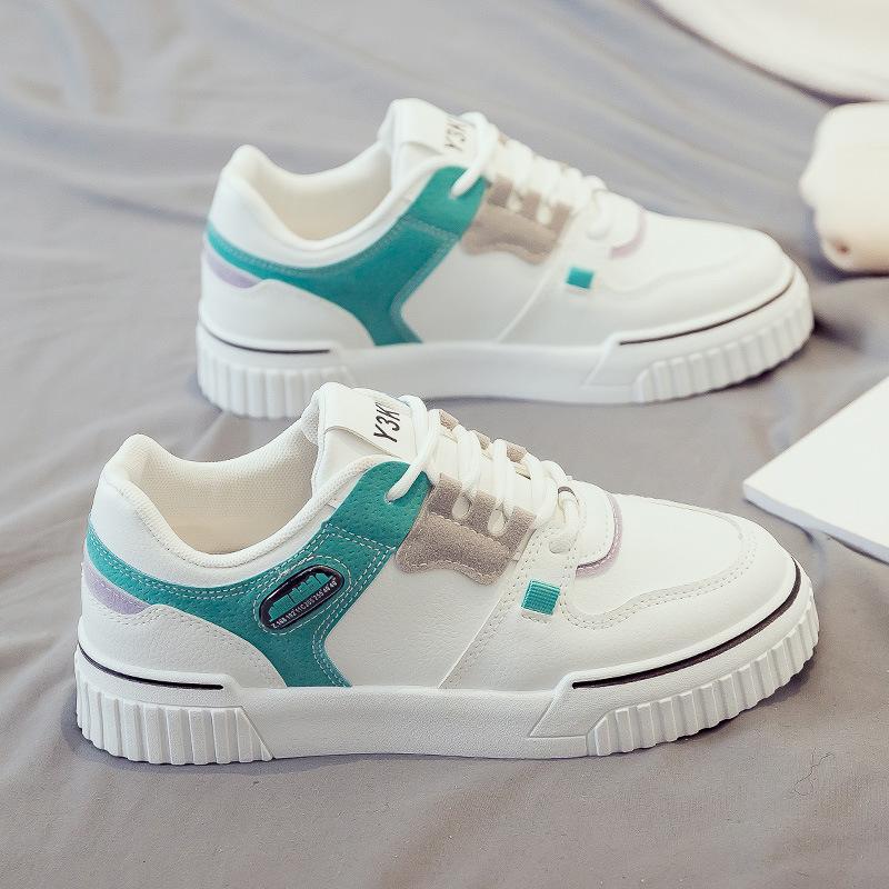 2020 moda nova mulheres sapatos preto branco tendências tênis ulzzang plataforma sneakers feminino treinadores confortáveis sapatos casuais mulheres snekaer