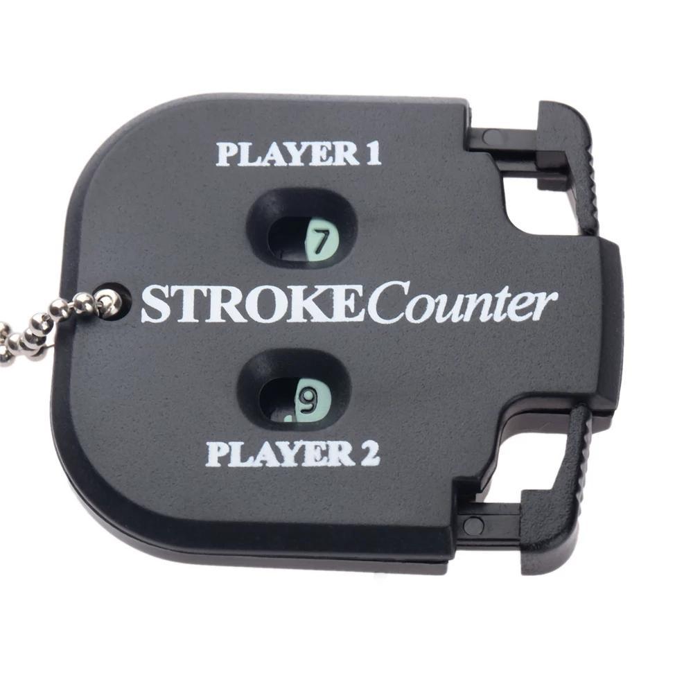 Mini Handy Golf Shot Count Scorsa Punteggio Punteggio Punteggio Contatore due cifre Custode con punteggio con catena chiave Golf-Training Aids Golf-Accessorie