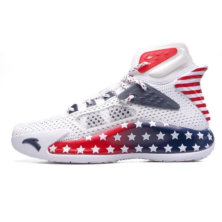 Anta Klay Thompson KT5 كرة السلة توقيع الأحذية الأصلية امتصاص الصدمات وارتداء مقاومة التربيع 112031101 الاحذية Topshop999