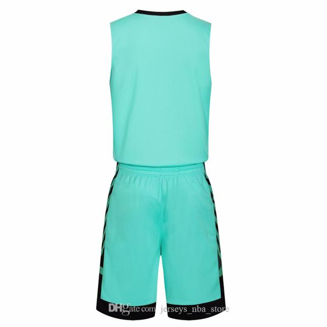 Jeux de basket-ball de basket-ball de basket à prix pas chers avec des maillots de basketball réversibles pour cette maison et de cet aspect de look Kits Sports 44-53