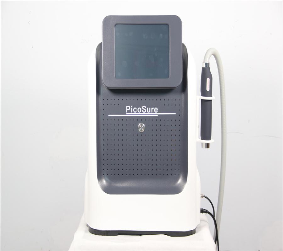 휴대용 기계 Q 스위치 ND YAG 1064 532 755 레이저 Picosecond Tattoo 안료 제거 피부 젊 어 짐 장비
