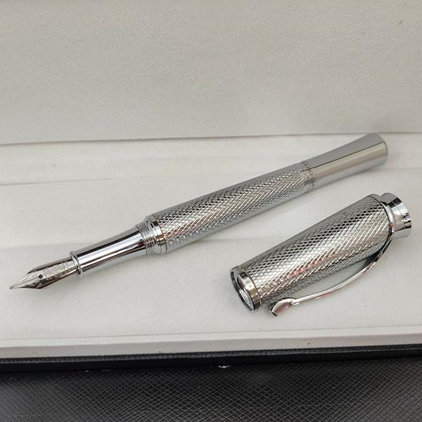 Giftpen Luxury Fountain Pens Series Princess Crown Carlings Classic Pen con 4810 Talla de galvanoplastia