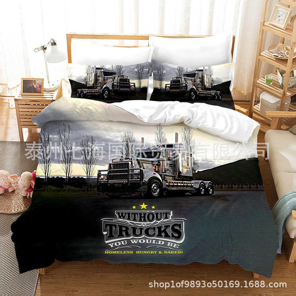 Home textile bedding three or four piece set truck size
