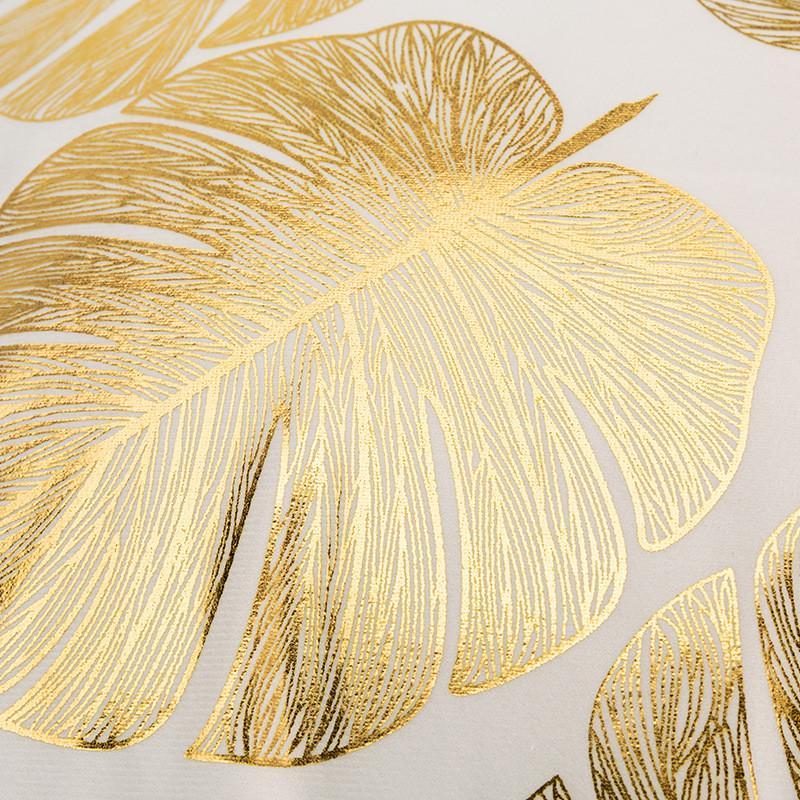 Caso de travesseiro de bronzeamento 18x18 polegadas ouro preto tecido macio flannelette quadrado lance capa de almofada para casa sofá quarto carro zze5362