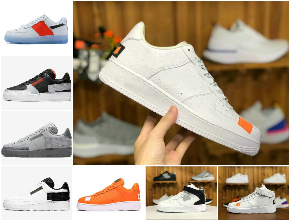 2021 paeceminusone x الخصم منتصف الاحذية الظل الاستوائية تويست حذاء رياضة المدرب كل الأبيض منخفض قطع واحد 1 dunks مصمم في الهواء الطلق حذاء B5 # 2