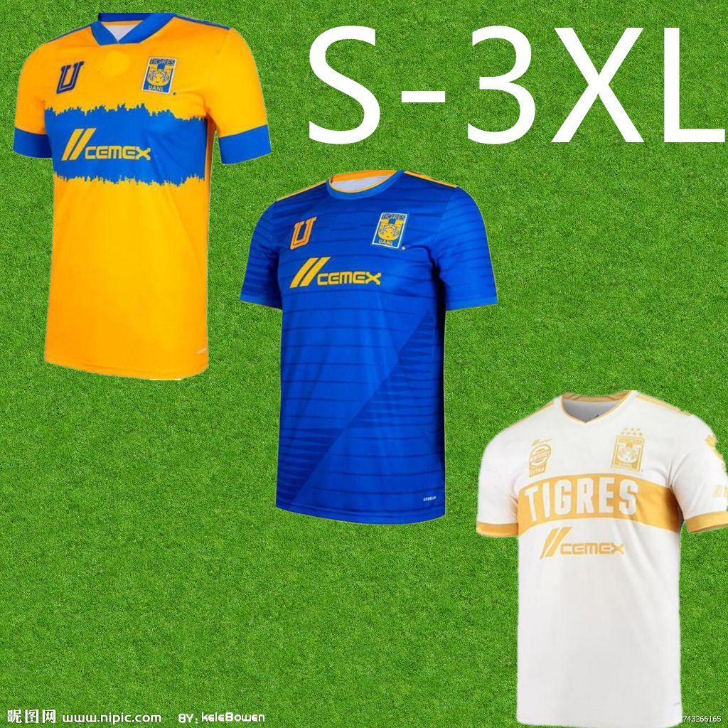 الرجال 2021 2022 2022 الدجال uanl لكرة القدم جيرسي المنزل بعيدا 3rd gignac 21 22 النهائي lopez vargas pizarro shirts camisetas s-3xl