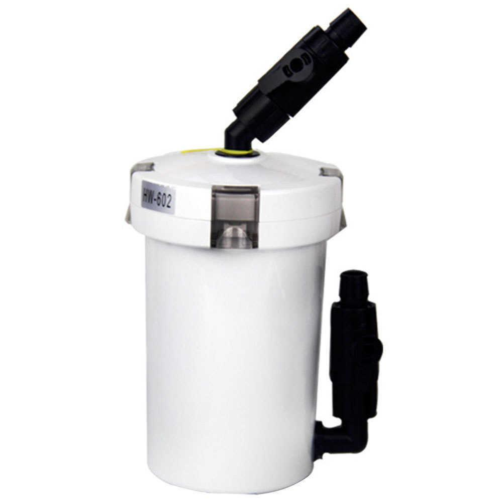 6W 400L/h External Canister Filter Durable Outer Aquarium Table Top Mini Water Purifying Fish Tank Home Pump Filtration System Y200917