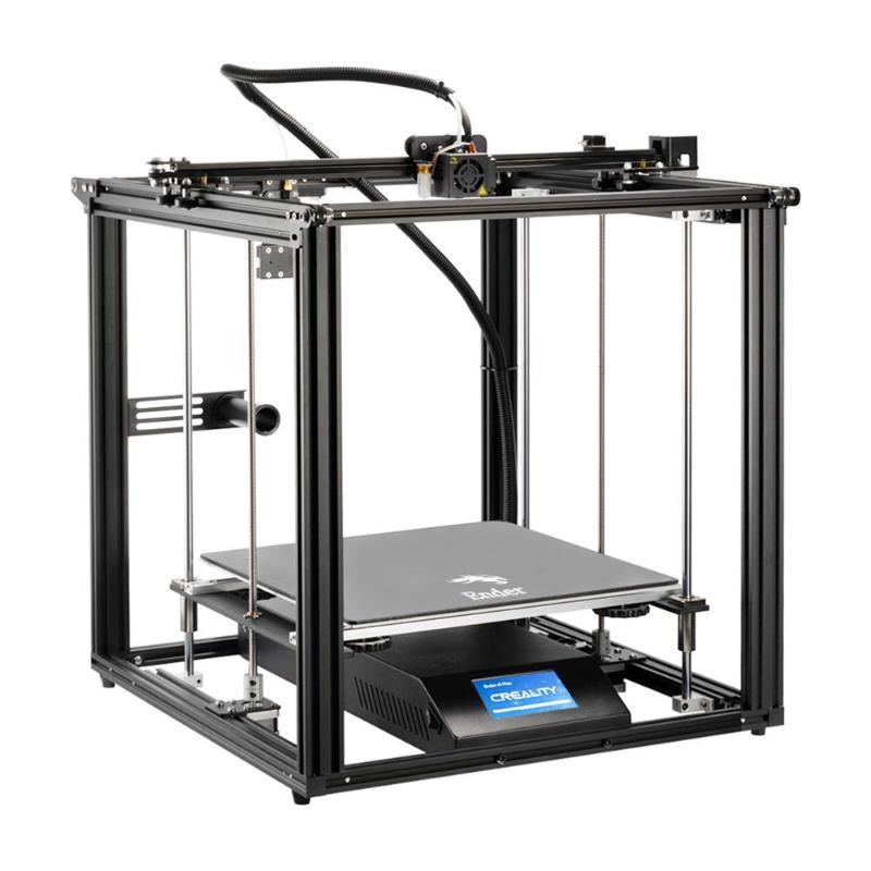Creality Ender 5 Plus 3D Printer with BL Touch, Tempered Glass Plate and Touch Color Screen, Large Build Volume 350X350X400mm