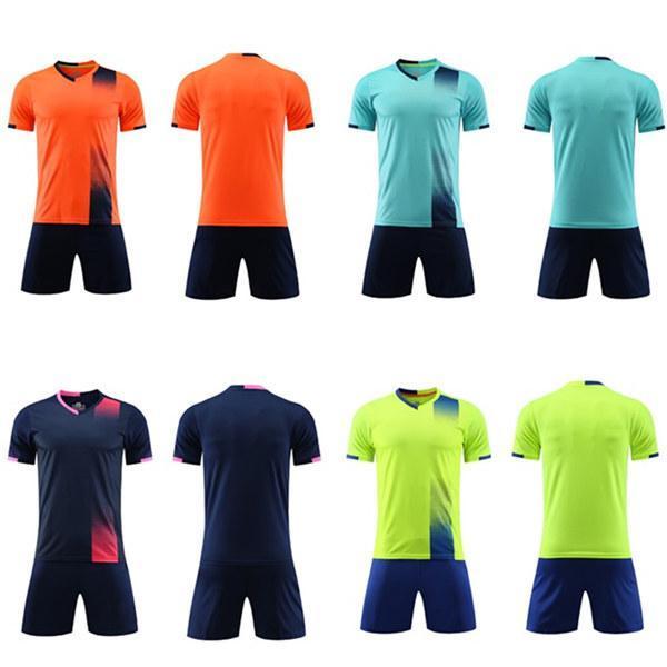 2021 Jersey de futebol Define Camisa de Futebol de Futebol e Mulheres Treinamento para Adultos Terno de Tabuleta de Luz Personalidade de Manga Curta Children 03