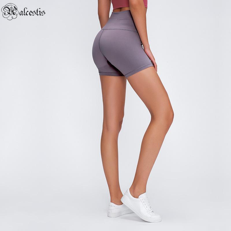 Летние быстрые сушки дна Горячие брюки женские карманные упругие подходят йоги брюки высокая талия бегущие шорты фитнес леггинсы