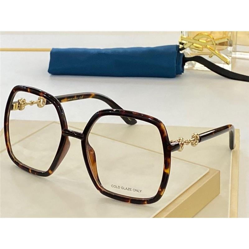 0890 Nuovi occhiali da vista di moda per le donne Cornice quadrata vintage Popolare di alta qualità Viene fornito con custodia classica 0890S Occhiali ottici
