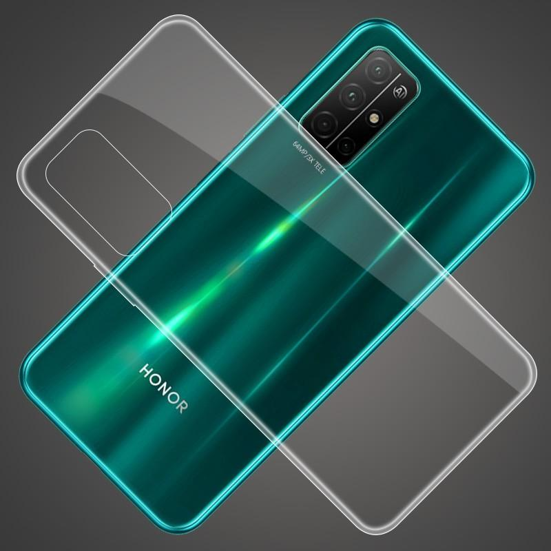 10pcs Soft TPU Gel Case 0.3mm Silicone Rubber Ultra Clear Cover For Huawei Honor 30 Pro 30S 20 20S V30 X10 9X Play 3 3E 4T 9A