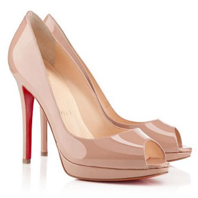 Оптовая летняя леди High каблуки сандалии открытыми пальцами на платформе на платформе Enamel Be-Color Flain Black / обнаженная кожаная кожа из элегантных женщин насосы женщины свадебное платье