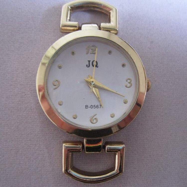 2021 Ny ankomst Guldton Quartz Watch Face Fit Smycken Watch Tillbehör 10st / Lot