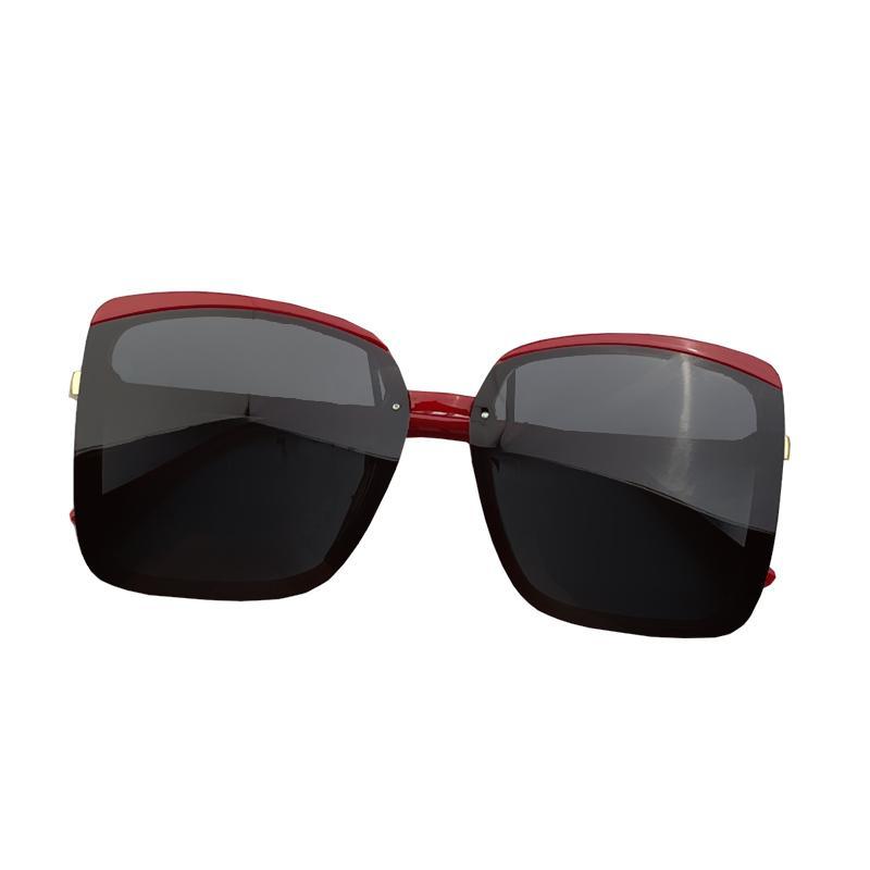 Sunglasses for women Polarized Sun Glasses Fashion Eyewear Eye Protection Wrap Goggle Full Square Frame Lenses Shades Driving Beach Travel with box