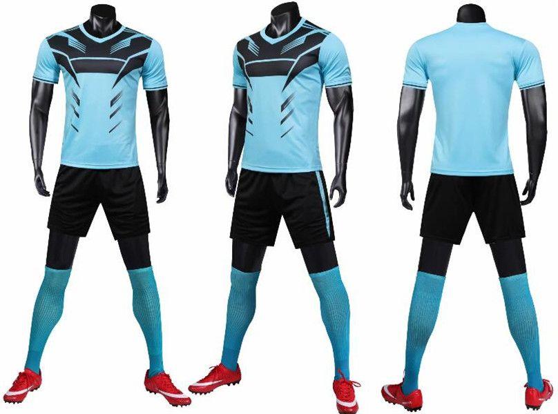 0142 Hommes Football Shirt Kits Jersey Football Taille adulte Taille à manches courtes Ensemble de jogging Tracksuit Set