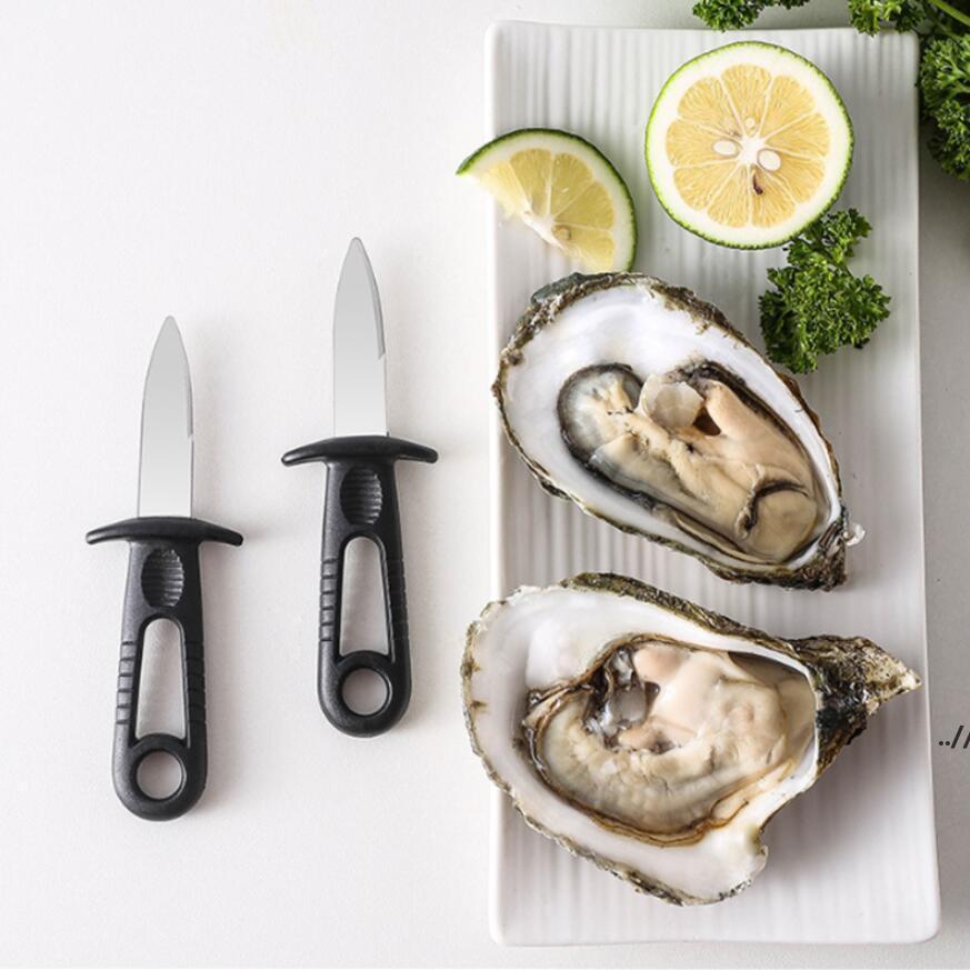 Utility multifunzione Utensili da cucina Attrezzi in acciaio inox Maniglia in acciaio inox Coltello da ostrica Sharp-Bording Shucker Shell Shellops Stupies Seafood DWB6969