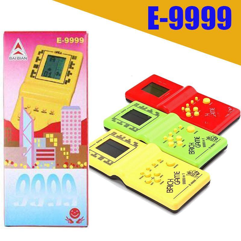 الكلاسيكية تتريس اليد الحنين مضيف لعبة لاعب ادى لعبة الالكترونية اللعب وحدة للأطفال يلعب متعة الطوب لعبة لغز يده E9999