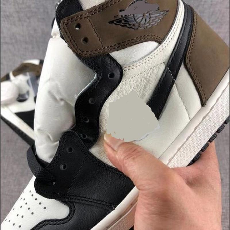 Top Quality New Jumpman 1 1s High Toe não para revenda homens sapatos de basquete Obsidian Unc Black branco homens mulheres sneakers sapato9yyn