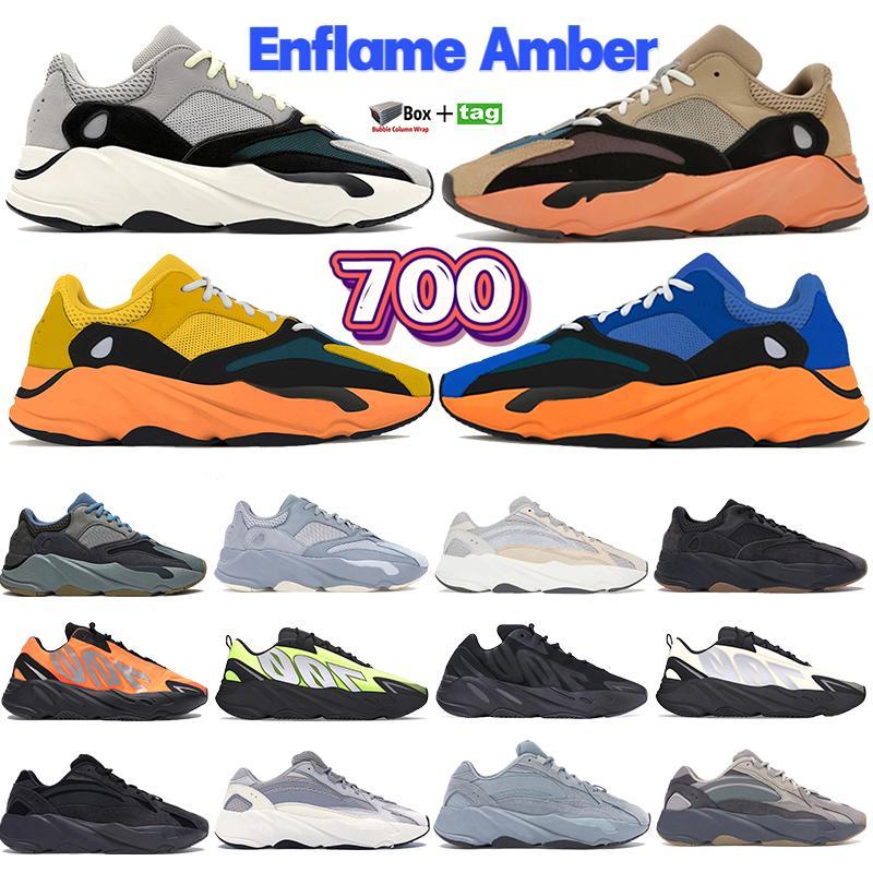 La meilleure qualité Srphym 700 v3 Phosphorescent les hommes sombres femmes chaussures Azareth Alva Azaël réfléchissant baskets squelette de chaussures de course