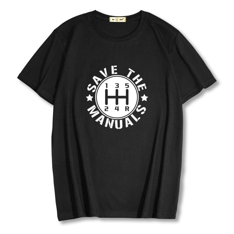 T-shirt da uomo T-shirt 100% manica corta in cotone Gearlever T-shirt T-shirt 2021 Abbigliamento casual estivo Abbigliamento sciolto Top Tees