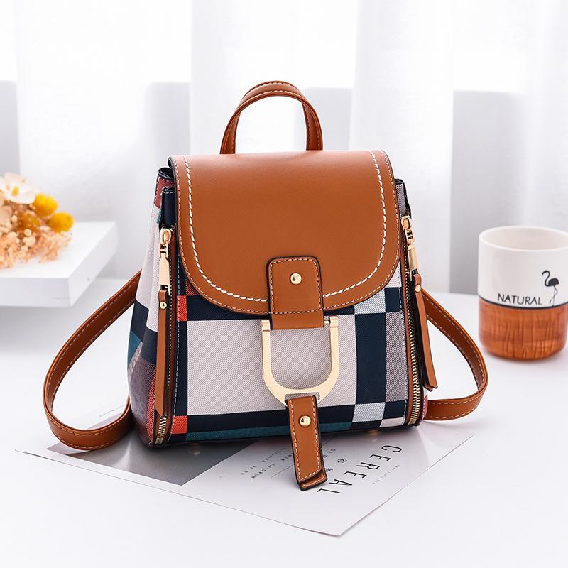 Designer multifunctional women's mesh backpack, women's school bag, women's travel bag