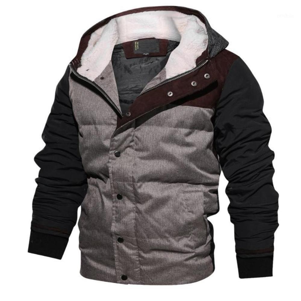 2019 새로운 겨울 두꺼운 자켓 남성 Windproof 따뜻한 까마귀 자켓 남성 캐주얼 coold- 증거 후드 코트 망 cloting1