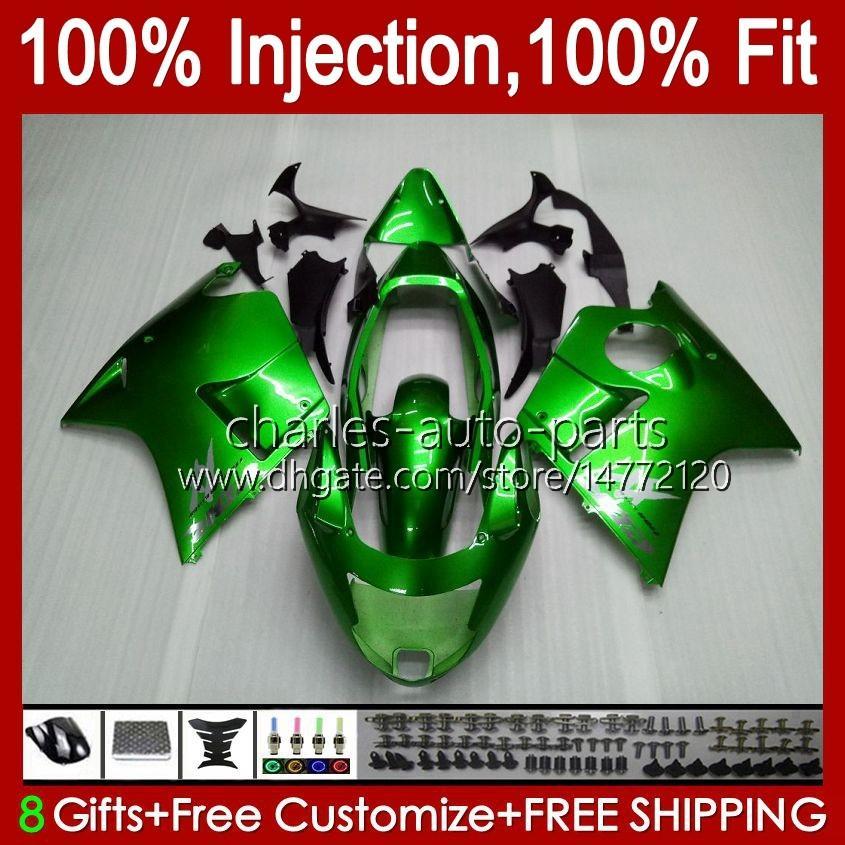 Stampo iniezione per Honda Blackbird CBR 1100 1100xx CBR1100 XX CC 96-07 Body 26No.7 CBR1100xx 96 97 98 99 00 01 1100CC 2002 2003 2004 2005 2006 2007 carenatura verde lucido