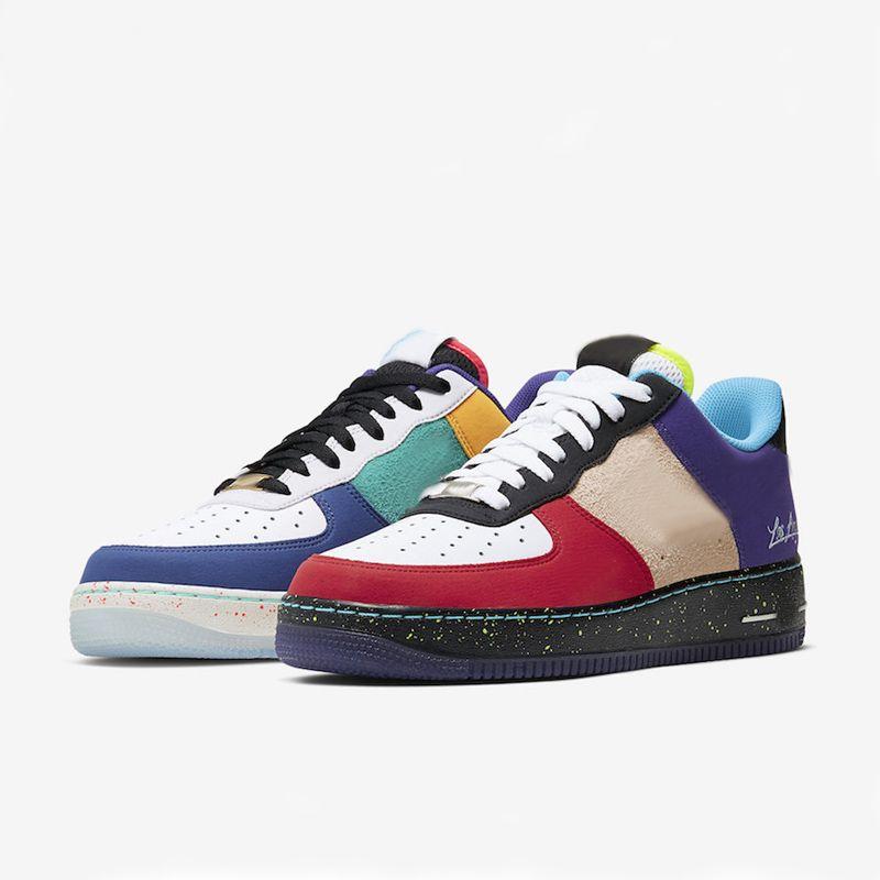 2021 Sapatos Desconto O que o La City Los Angeles para Homens Mulheres Amante Corte Baixo Skate Skate Tamanho EUR36-45