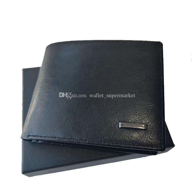 Herren Kartenhalter Leder Brieftasche Hohe Qualität Münze Geldbörse Führerschein Lizenz Folding Handwerk Tragbare Handtasche Cash Clip