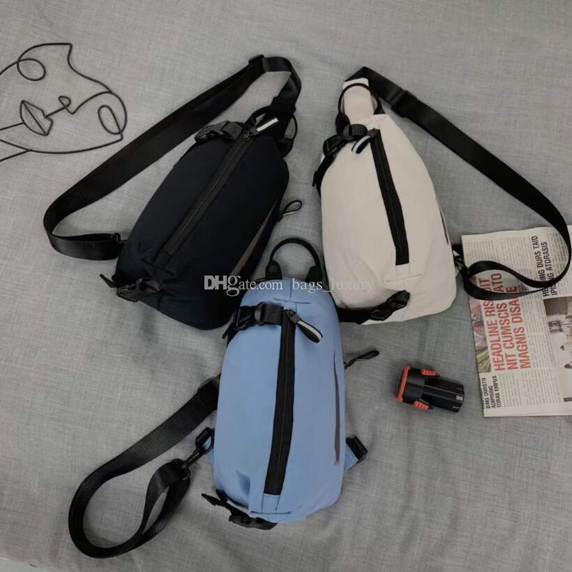 Unisex Chest Bags Women's Nylon Waist Neck Pouch Sling Bag Casual Male Fanny Pack Girls Sports Crossbody Handbags Phone Wallet