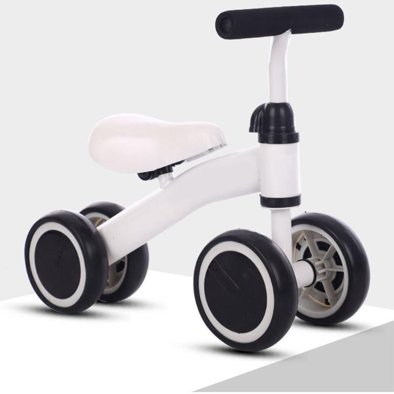 Conjuntos de presentes infantil Baby Balance Bike Walker Miúdos Passeio no Brinquedo 10-24 Mês Crianças Aprendendo Caminhada Scooter Bicicleta Segurança Estável