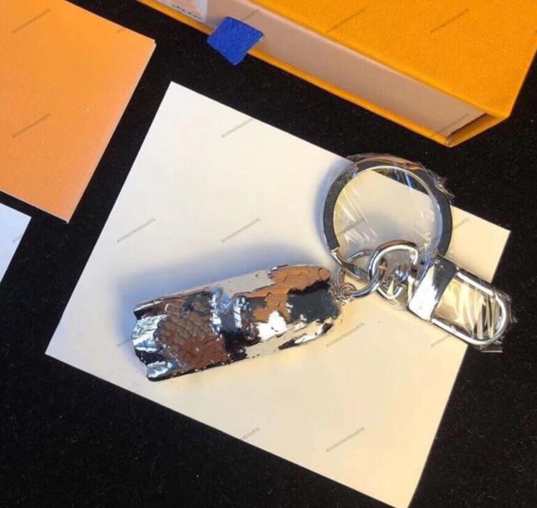 Spor Araba Gümüş Tam Mektup Anahtarlıklar Yüksek Kalite Metal El Yapımı Unisex Tasarımcı Anahtarlık Erkekler Kadınlar Kolye Punk Anahtarlık Takı Aksesuarları
