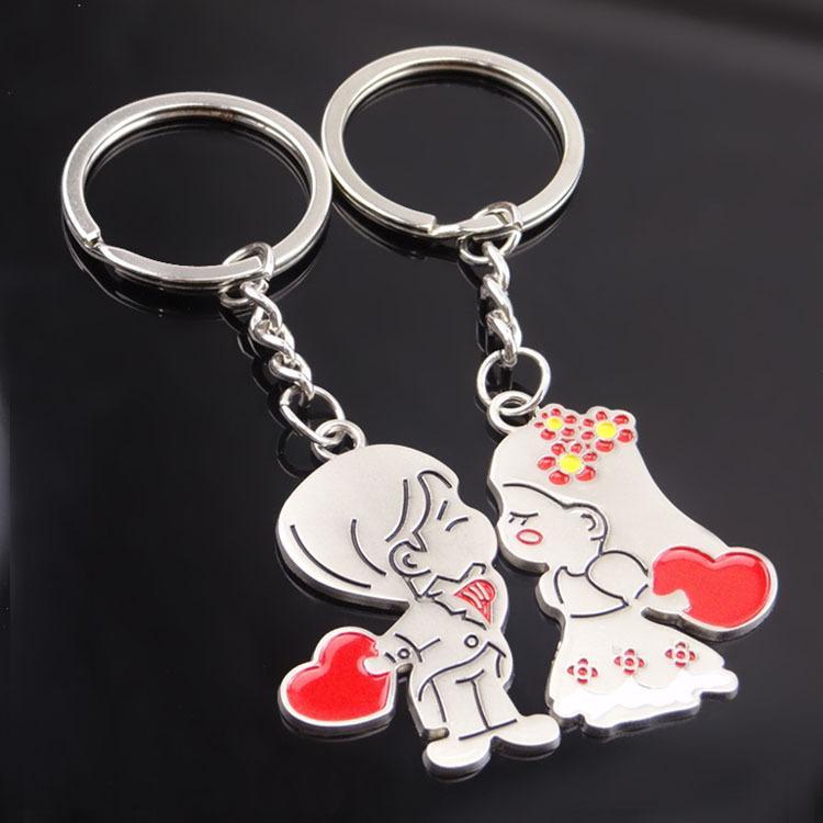 Keychain Kreative Puppe Keychain Cartoon Geschenk Paaröffnung