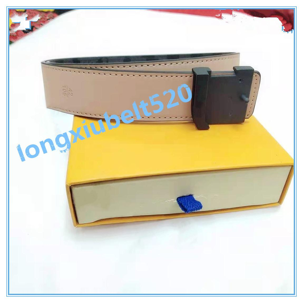 2022 fashion big buckle leather belt with designer belt for men and women high quality new men's belt without box A666