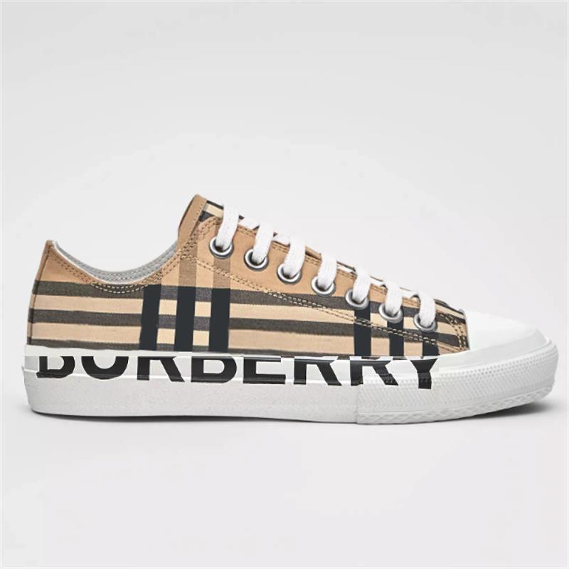 2021 Männer Vintage Scheck Turnschuhe Frauen Designer Schuhe Logo Druck Baumwolle Sneaker Gummi Boden Gittertrainer Outdoor Casual Schuhe mit Box No288