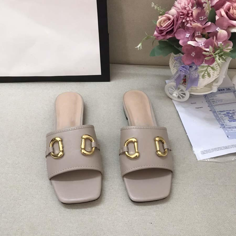 Moda Mulheres Sangres Sandálias Slides Summer Sexy Real Couro Plataforma Flats Sapatos Senhoras Praia Chinelos Home011 36