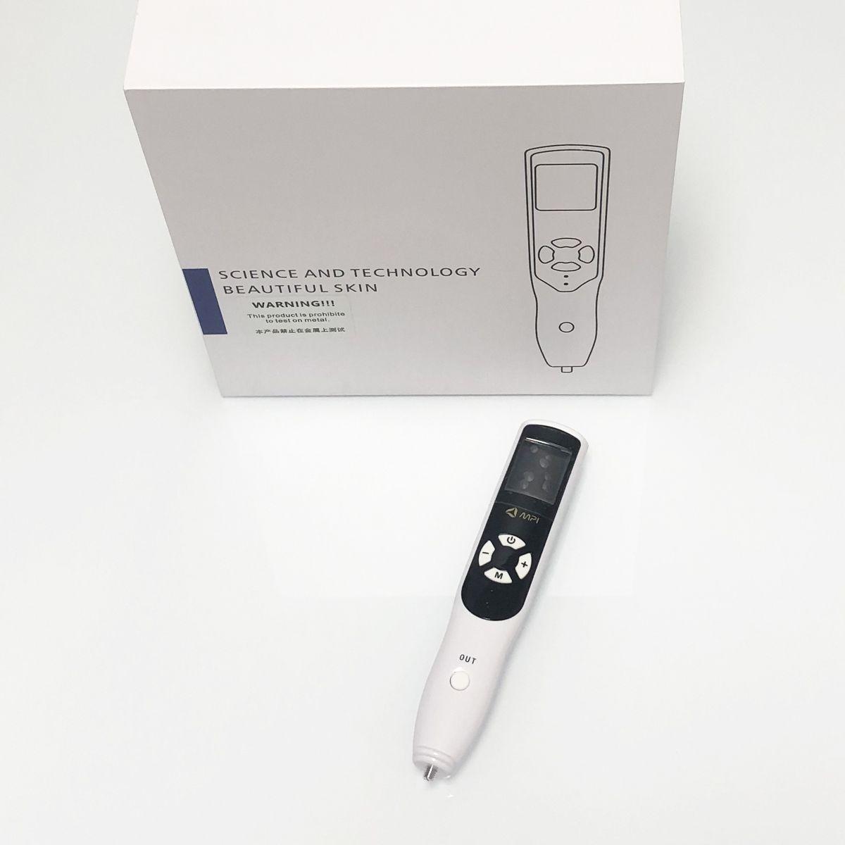 Taşınabilir 2 in 1 karanlık nokta temizleme plazma kalem ozon cilt gençleştirme fonksiyonu ile göz kaldırma paa plazma güzellik kalem