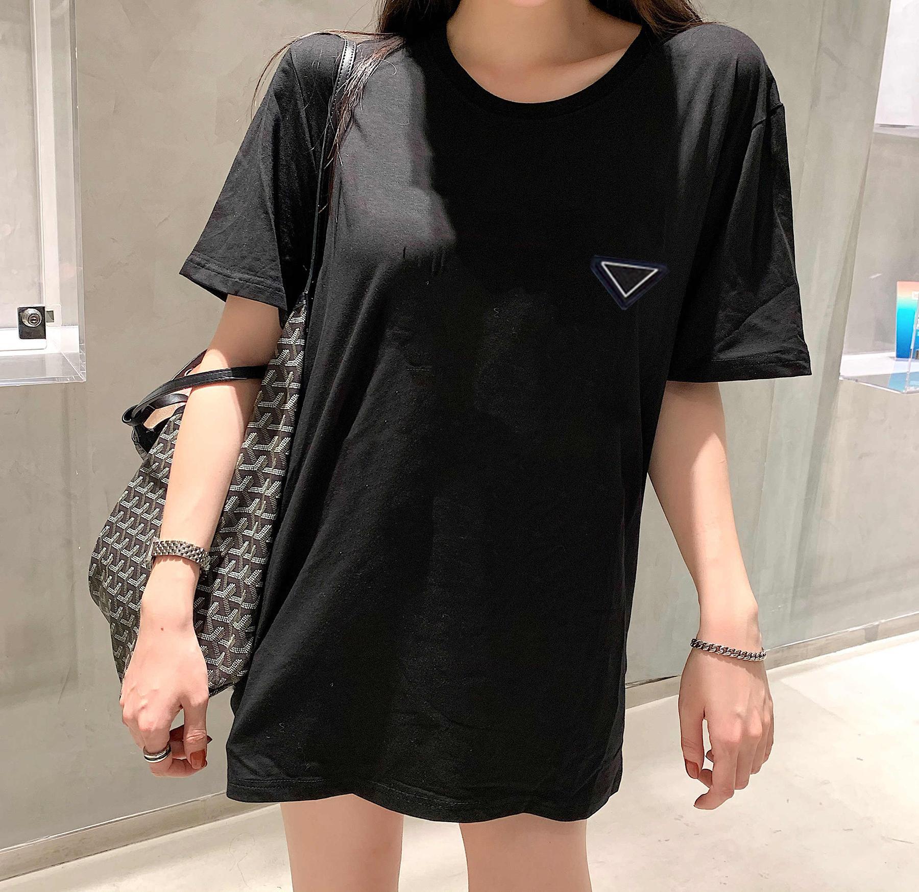 Le donne T-shirt lettere stampate con motivo di gatto Tees per lady slim style maniche corte estate traspirante T-shirt