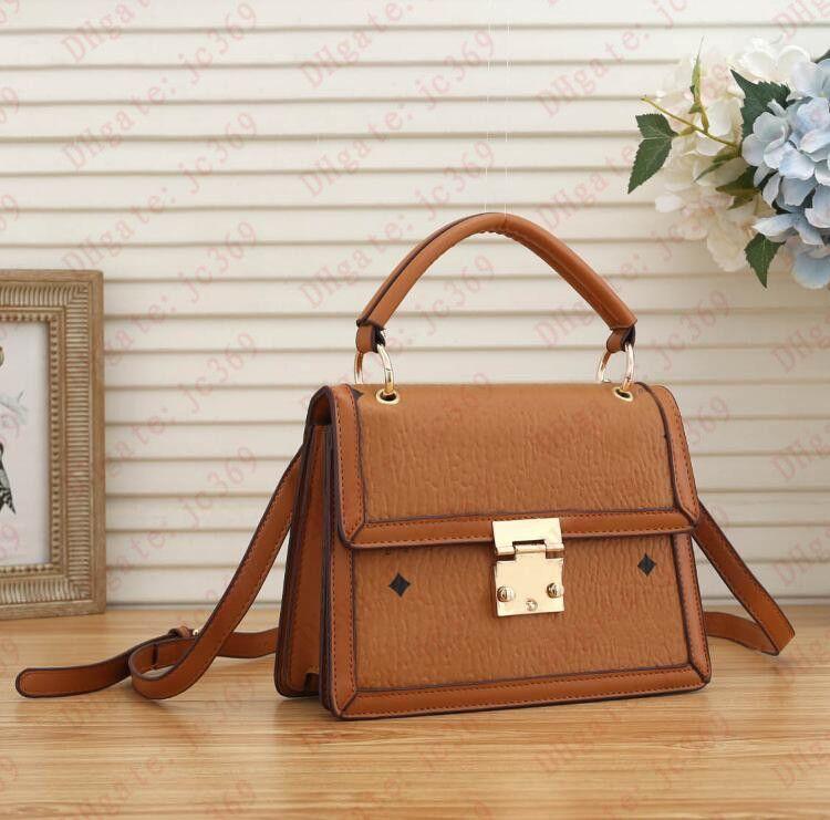 Женская сумка дизайнерская сумка высокого качества мода классическая универсальная кожаная печать мини-сумки леди кошелек