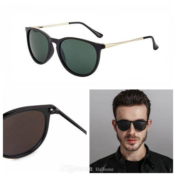 Klassische Luxus Erika Sonnenbrille für Männer Frauen Marke Designer Spiegel Cat Eye Sunglas Stern Stil Schutz Sonnenbrille UV400