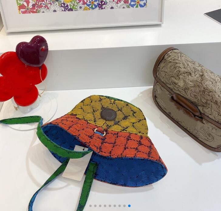 Erkek Kadın Tasarımcılar Kova Şapka Moda Renkli Tam Mektup Beyzbol Şapkası Casquette Bonnet Beanie Luxurys Fedora Takılmış Caps Sun Hat