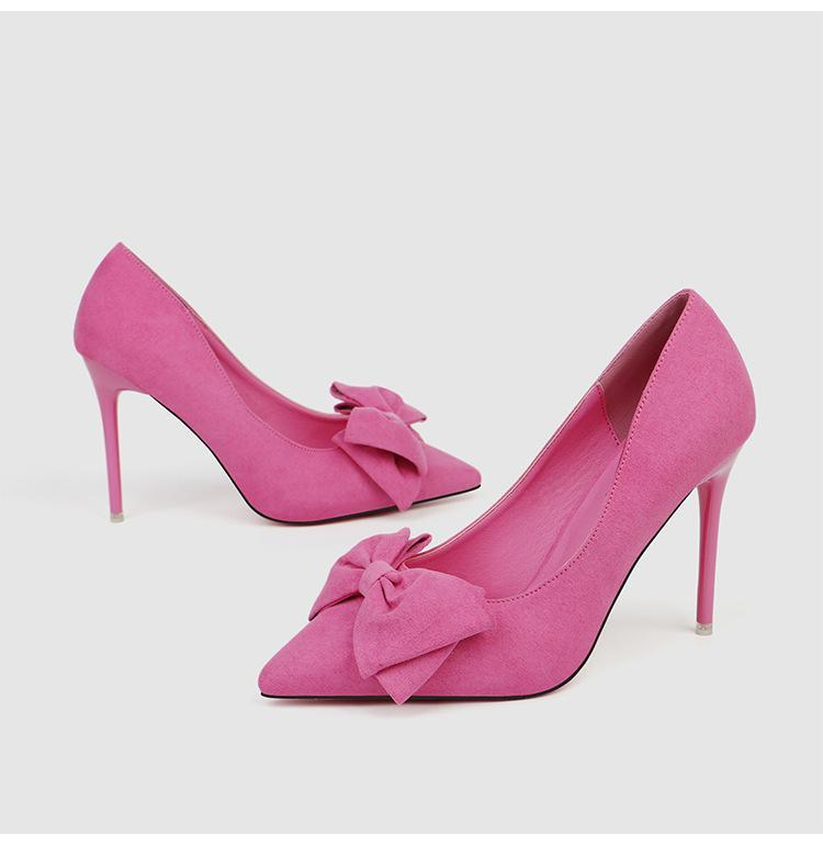 Обувь платье бархатные женщины короткие насосы бежевые высокие каблуки неглубокие рот на шнуровке заостренный клин 2021 сандалии дамы скользят ом сладкий черный лук