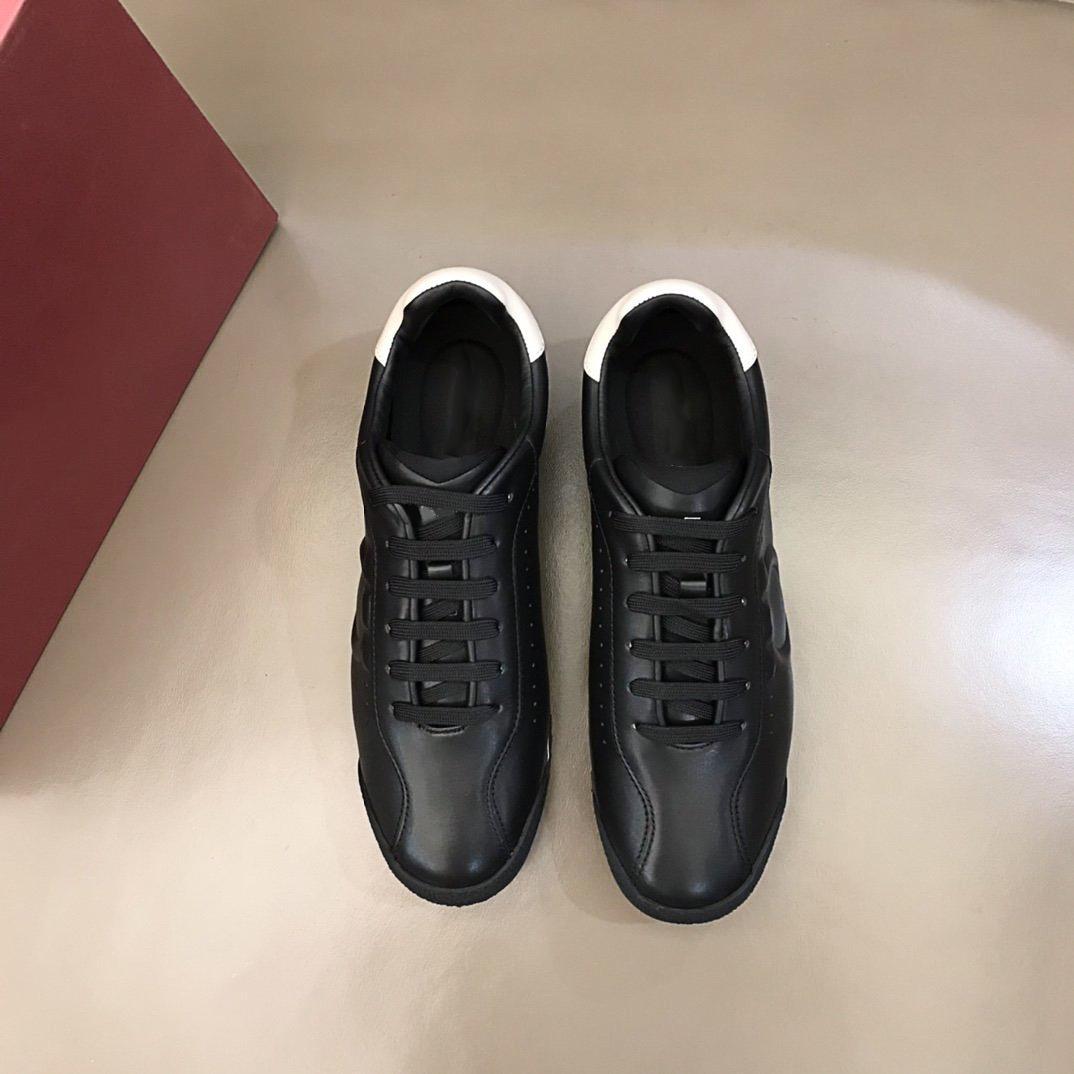 Yüksek kaliteli lüks tasarımcı ayakkabı erkek rahat spor ayakkabı, ithal buzağı derisi minimalist spor ayakkabı kutusu ile boyut38-45
