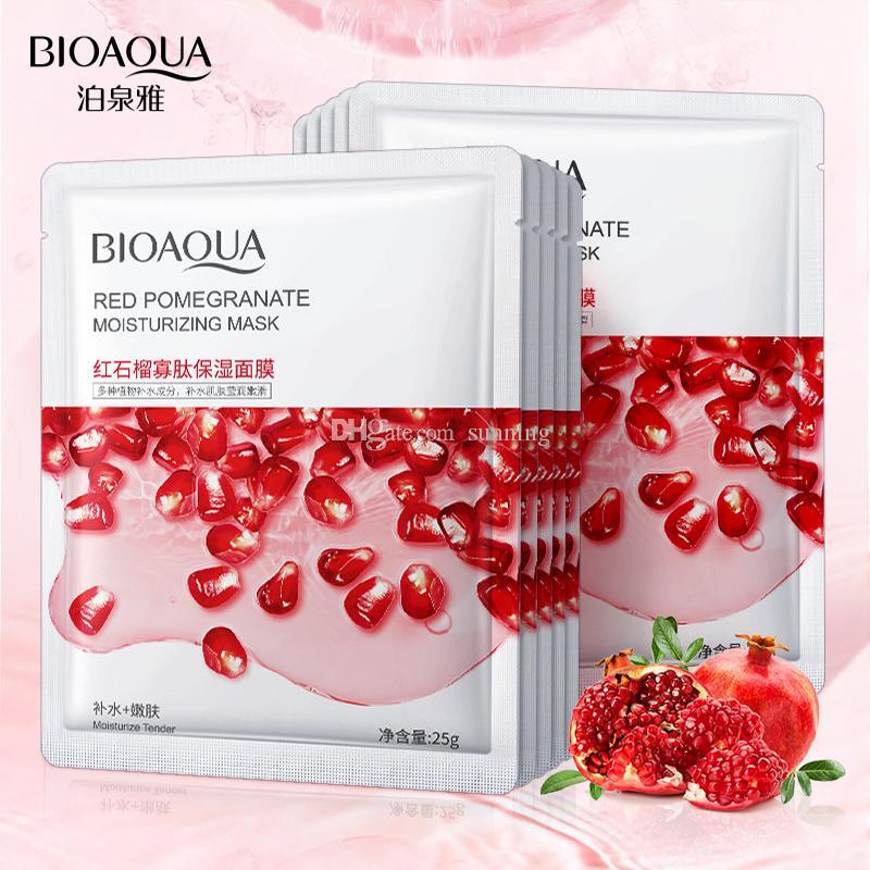 أعلى البائع bioaoua الخيار centella قناع الترطيب عنبية الألوة فيرا العسل مصنع الفاكهة الطبيعية أقنعة الوجه العناية بالوجه