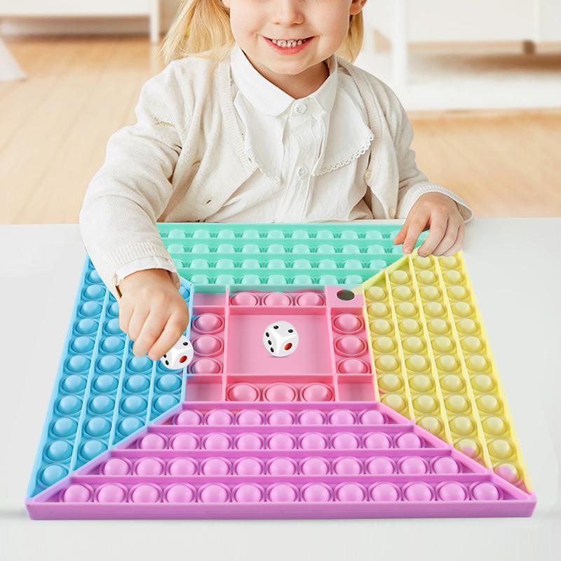 30 cm Fidget Ampio Autism Giocattolo Decompressione Ha bisogno di Squishy Stress Reliever Ansia Silicone Bambini per bambini Adult Desktop Game