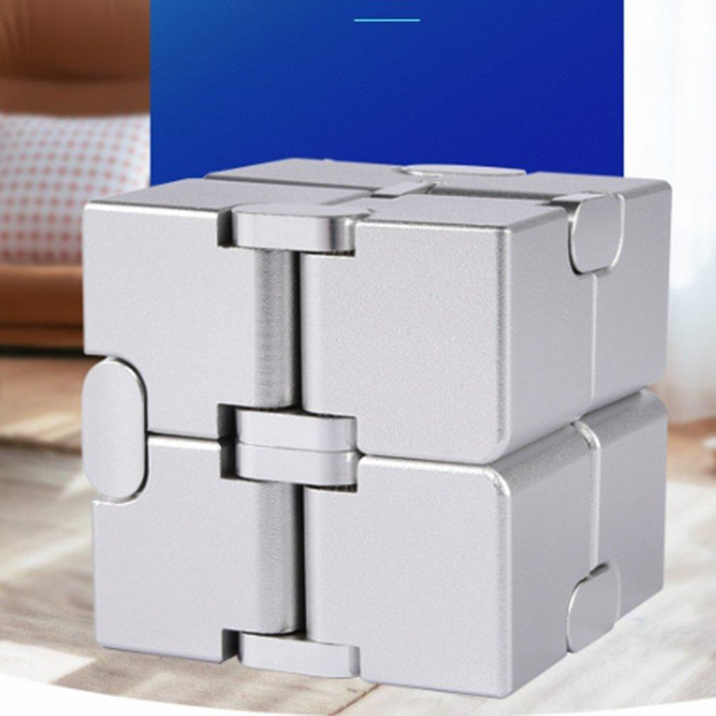 2020 Antistateurs Infinite Cube Infinity Cube Cool Cube Office Flip Puzzle cubique Stress Stress Strife Autisme Jouets Relax Jouet pour adultes C0323